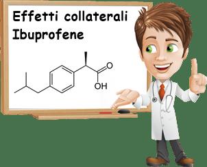 Effetti collaterali ibuprofene