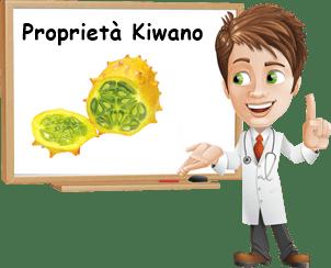 Proprietà kiwano