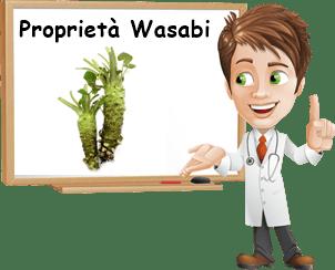 Proprietà wasabi