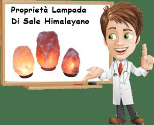 Proprietà lampada di sale himalaya