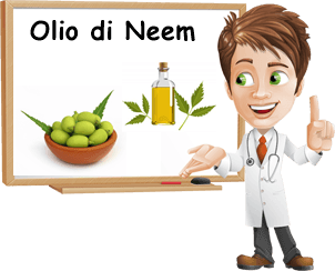 Proprietà olio di neem