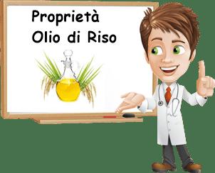Proprietà olio di riso