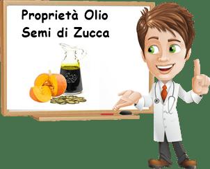 Proprietà olio semi di zucca
