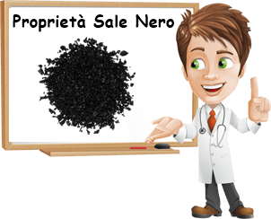 Proprietà sale nero