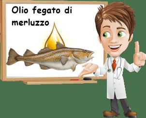Proprietà olio di fegato di merluzzo