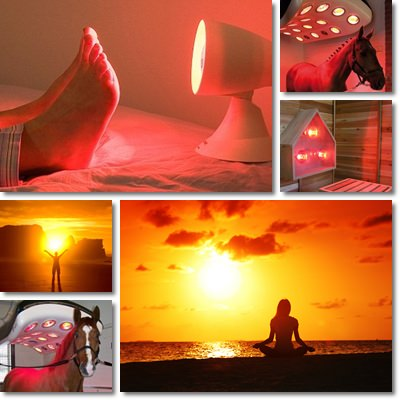 terapia lampada a raggi infrarossi