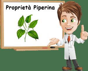 Proprietà Piperina