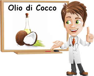 Proprietà olio di cocco