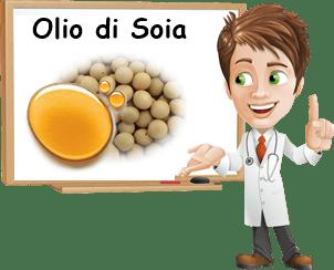 Proprietà olio di soia