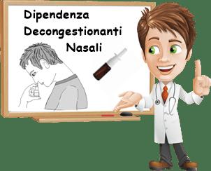 Dipendenza decongestionanti nasali