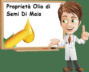 Proprietà olio di semi di mais