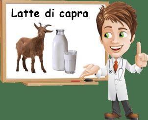 Proprietà latte di capra