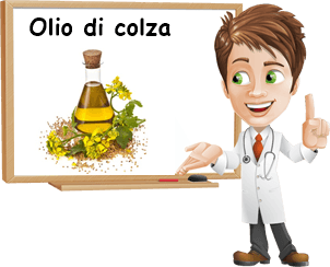 Proprietà olio di colza