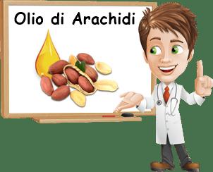 Proprietà olio di arachidi