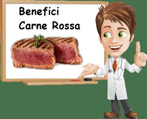 Benefici carne rossa