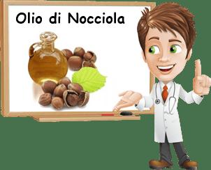 Proprietà olio di nocciola
