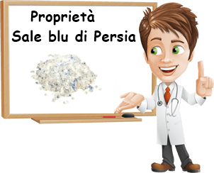 Proprietà sale blu di persia