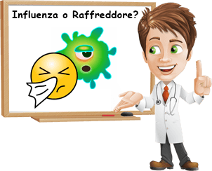 Differenza tra influenza e raffreddore