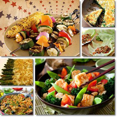 Ricettario vegetariano