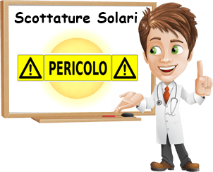 Rimedi scottature solari