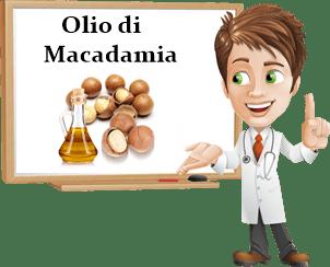 Proprietà olio di macadamia