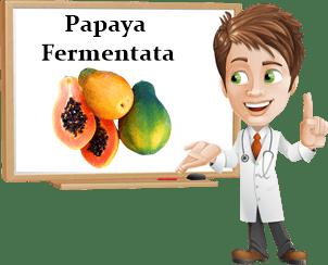 Proprietà papaya fermentata