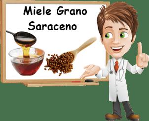 Benefici miele di grano saraceno