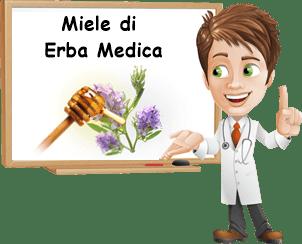 benefici miele di erba medica