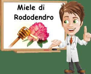 benefici miele di rododendro