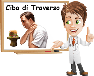 cause cibo di traverso