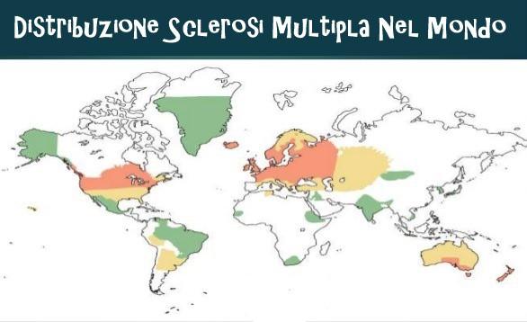 distribuzione sclerosi multipla