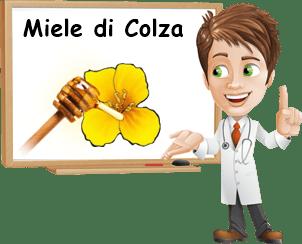 benefici miele di colza