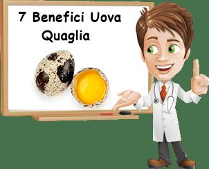 Benefici uova di quaglia