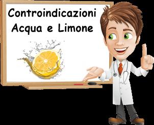 controindicazioni acqua calda e limone