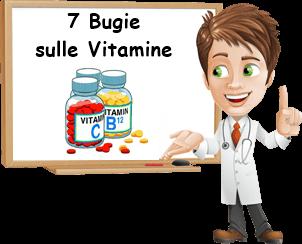 Tutte le bugie sulle vitamine