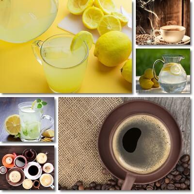 acqua limone e caffè