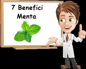 maggiori benefici della menta