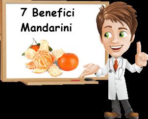 maggiori benefici mandarini