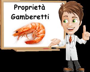benefici gamberetti