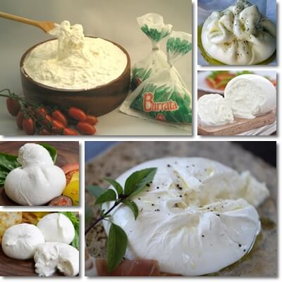 Proprietà e benefici Burrata