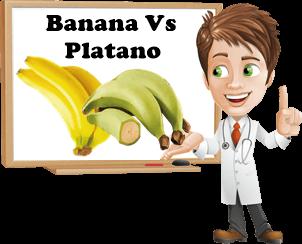 platano e banana caratteristiche