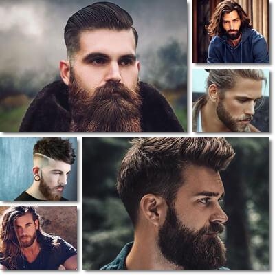 taglio capelli uomo 2018 2019 con barba