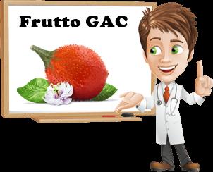 benefici frutto gac