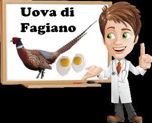 benefici uova di fagiano