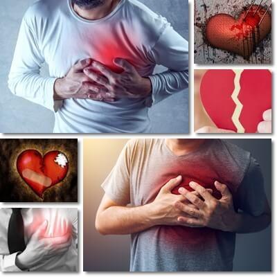 Fitte e spilli al cuore