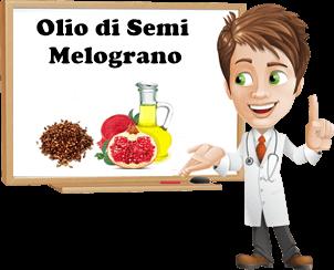 benefici olio di semi di melograno