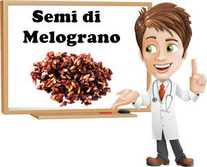 benefici semi di melograno