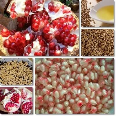 tutte le proprietà dei semi di melograno