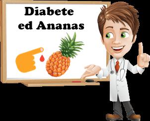 mangiare ananas con il diabete