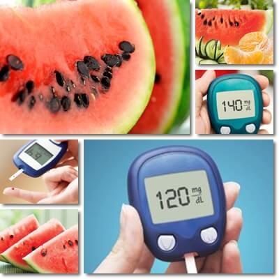 Posso mangiare l'anguria se ho il diabete?